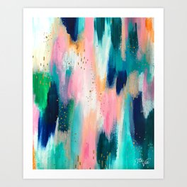 Brushstroke no.44 Art Print