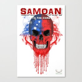 To The Core Collection: Samoa Canvas Print