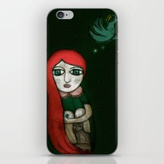 Letting Go. Holding On. iPhone & iPod Skin
