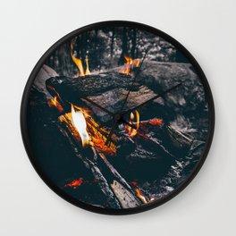 Burn Brightly Wall Clock
