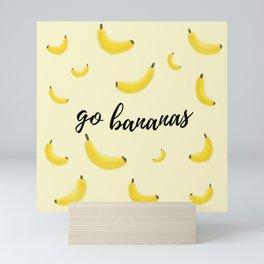 Go Bananas Mini Art Print