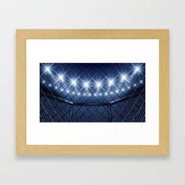 MMA arena Framed Art Print