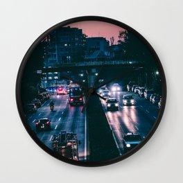Tokyo trafic Wall Clock