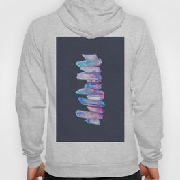 Ultraviolet Aura Crystals Hoody