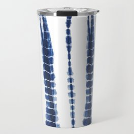 Indigo Blue Tie Dye Delight Travel Mug