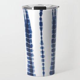 Indigo Blue Tie Dye Delight Travel Mug