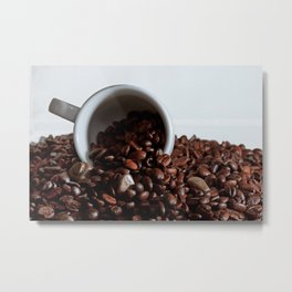 coffee addiction Metal Print