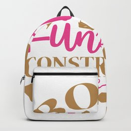 Body Under Construction Backpack