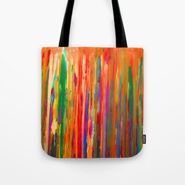 Neon Down Tote Bag