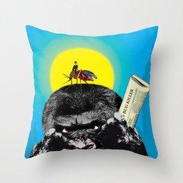 Bug killer Throw Pillow