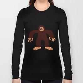 Angry bigfoot Long Sleeve T-shirt