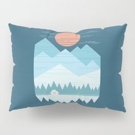 Cabin In The Snow Pillow Sham