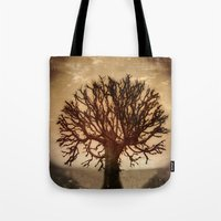 crown Tote Bags featuring Crown by Armine Nersisian