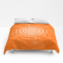 Ripples_Orange Comforters