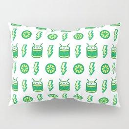 Limes'n Drums Kawaii Tropical Pillow Sham