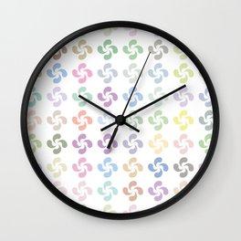Lauburu Wall Clock