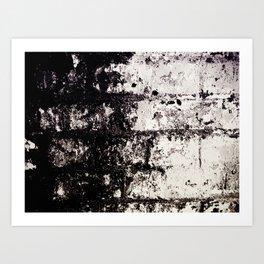 Wall of Darkness Art Print