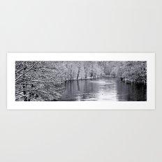 Sillent Winter Art Print