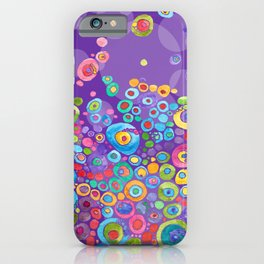 Inner Purple iPhone Case