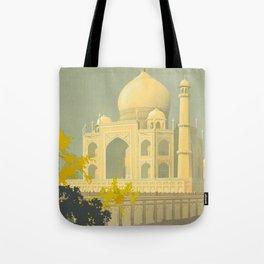 Visit India Tote Bag