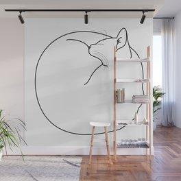Fuzz Ball Wall Mural