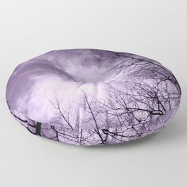 Purple Night  - JUSTART © Floor Pillow