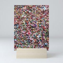 Pop of Color - Seattle Gum Wall Mini Art Print