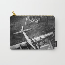 B-17 Bomber Over Germany Painting Carry-All Pouch