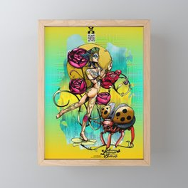Madame Ladybotté Butterfly of Lovers' Vale Framed Mini Art Print