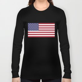 National flag of USA - Authentic G-spec 10:19 scale & color Long Sleeve T-shirt