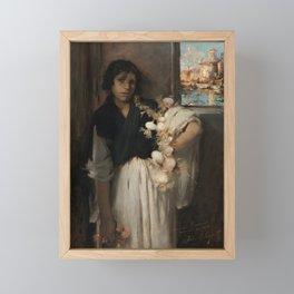 John Singer Sargent - Venetian Onion Seller Framed Mini Art Print