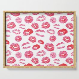 first kiss Serving Tray