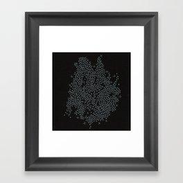 2015 Constellation Framed Art Print