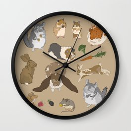 Small pets Wall Clock