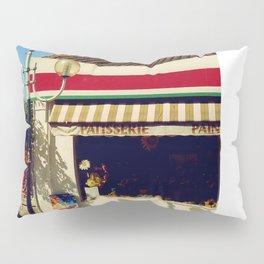 French Village Bakery Pillow Sham