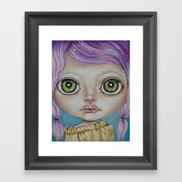 Awkward  Framed Art Print
