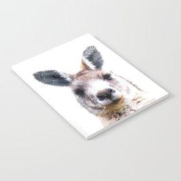 Kangaroo Portrait Notebook