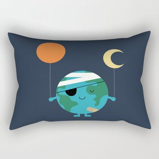 Love Our World More Rectangular Pillow