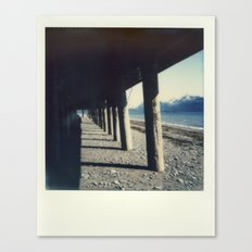 Homer, AK - Polaroid Canvas Print