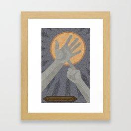 Dandelions - (Artifact Series) Framed Art Print