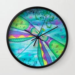 Dragonfly III Wall Clock