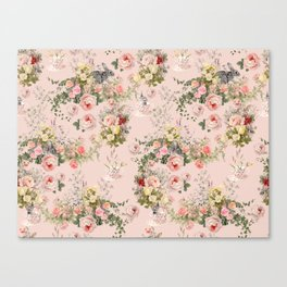 Pardon Me There's a Bunny in Your Tea Canvas Print