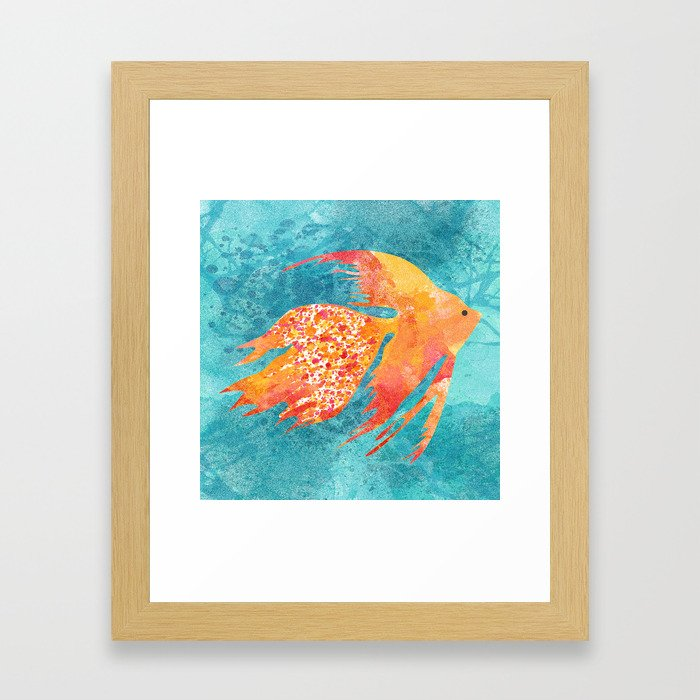 Easy living Framed Art Print