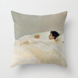 Mother by Joaquín Sorolla Throw Pillow