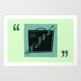The Vox Art Print