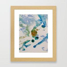 Sky Life Transmogrified Framed Art Print