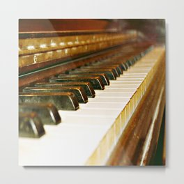 That Old Piano  Metal Print