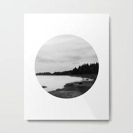 IMAGE: N°38 Circle Metal Print