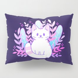 Plant Cat Pillow Sham
