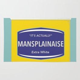 Mansplainaise Rug